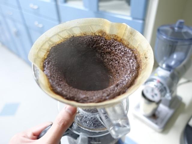 コーヒーの出し殻